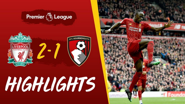 Highlights: Liverpool 2-1 Bournemouth