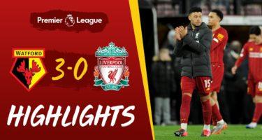 Highlights Watford 3-0 Liverpool